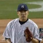 田中将大(マー君)投手 2失点で抑えるものの4勝目ならず