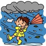 台風6号が東京・関東に急接近中!帰宅途中の雨風には気をつけて!!