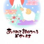 年賀状の無料テンプレート(2015年版)おしゃれでかわいい イラスト・デザイン編